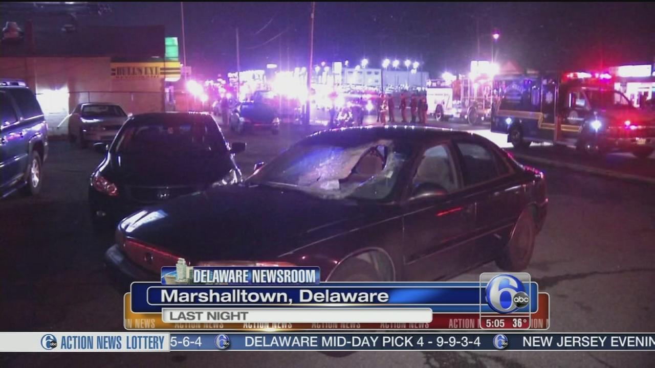 VIDEO: Pedestrian struck, killed in Delaware