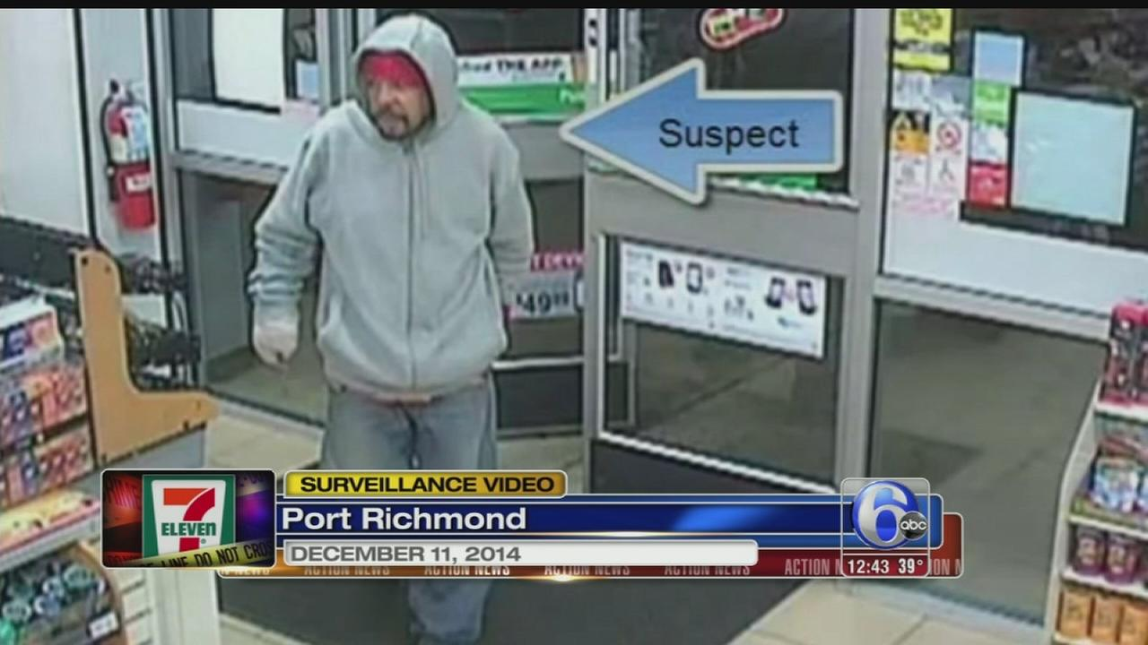 VIDEO: 7-Eleven bandit caught on camera