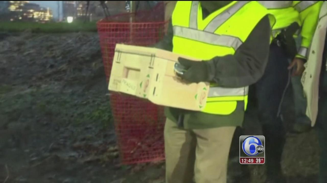 VIDEO: Time capsule from 1795 unearthed