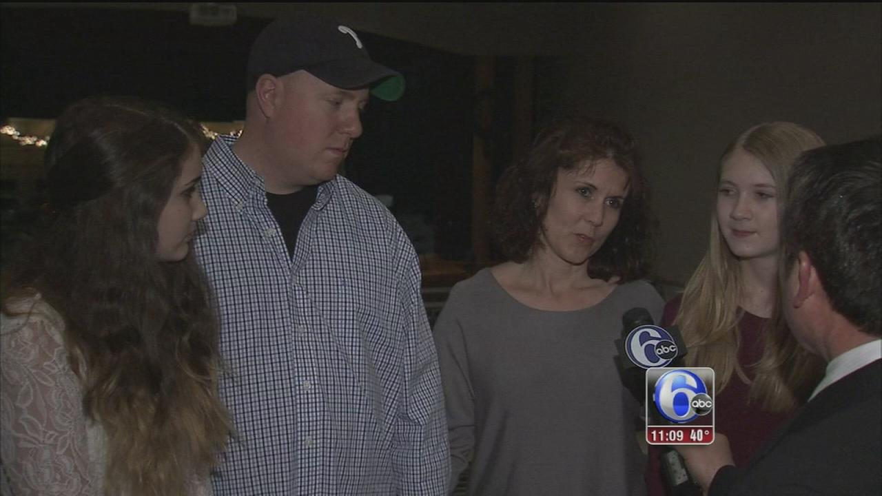 VIDEO: Community rallies behind officer, family after devastating fire