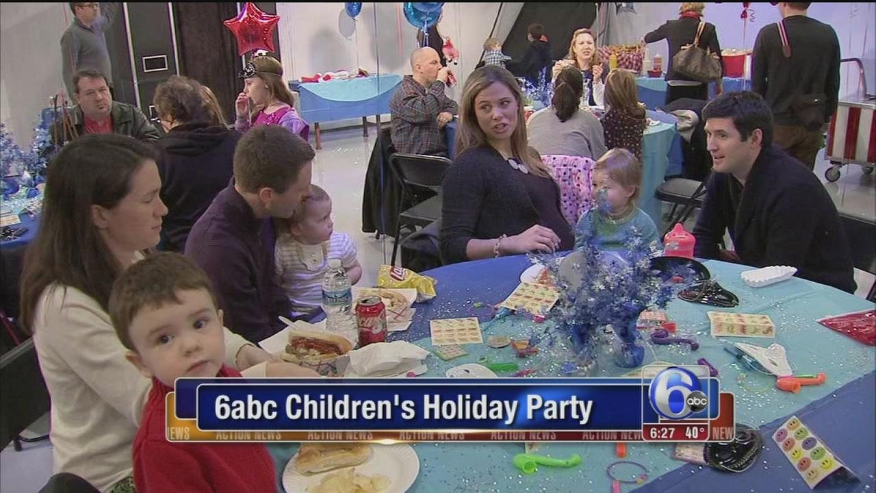 VIDEO: 6abc?s annual children?s holiday party