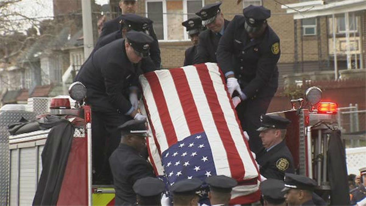 PHOTOS: Funeral for firefighter Joyce Craig