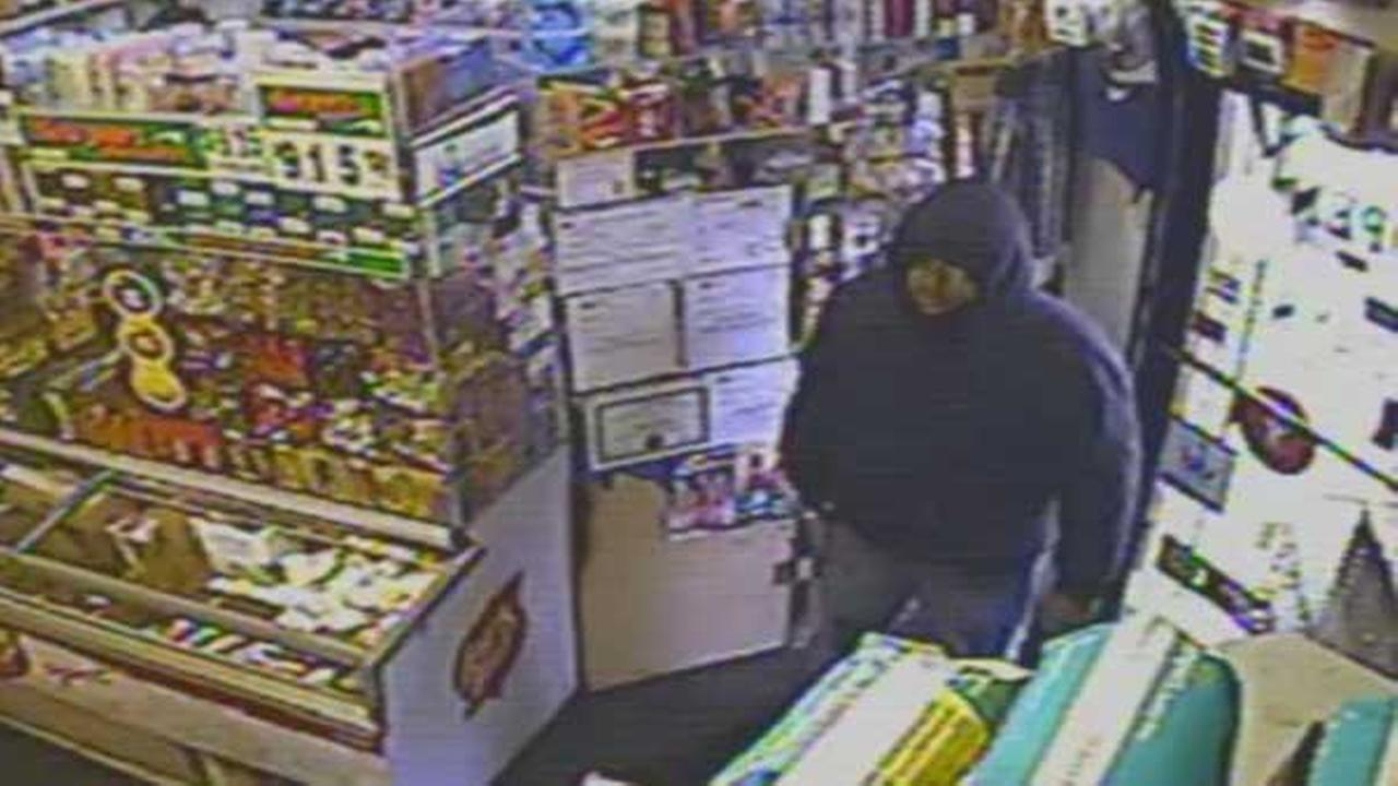 Philadelphia police are searching for a serial armed robber in the citys Kensington section.