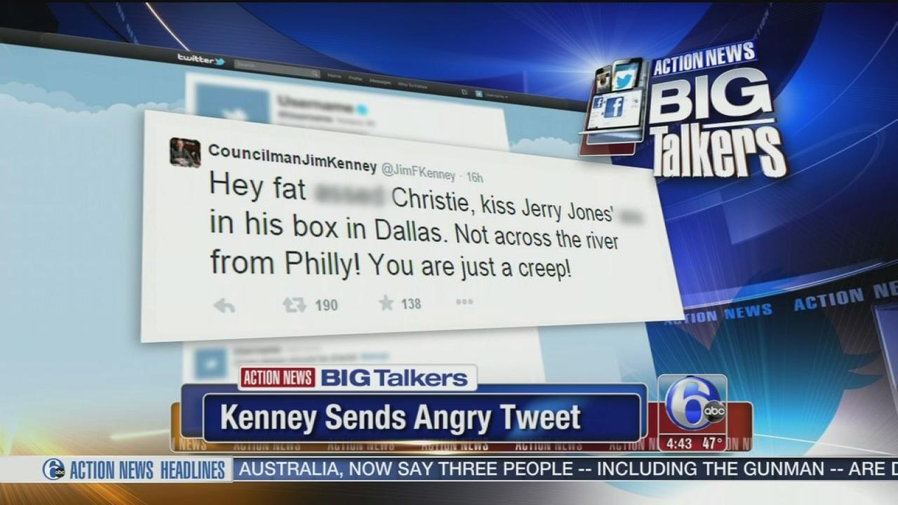 VIDEO: Kenney sends angry tweet