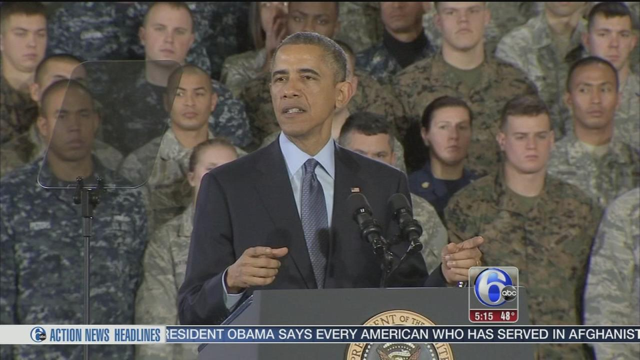 VIDEO: Obama thanks troops