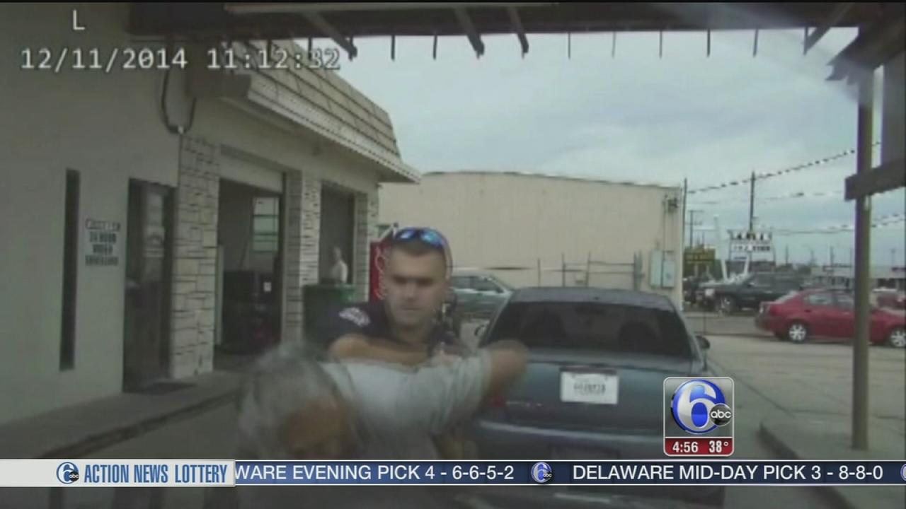 VIDEO: Officer fires taser at elderly man
