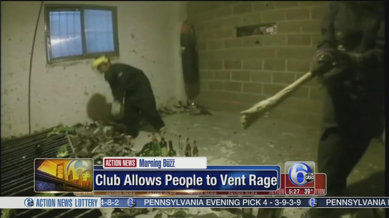 VIDEO: Club allows people to vent rage