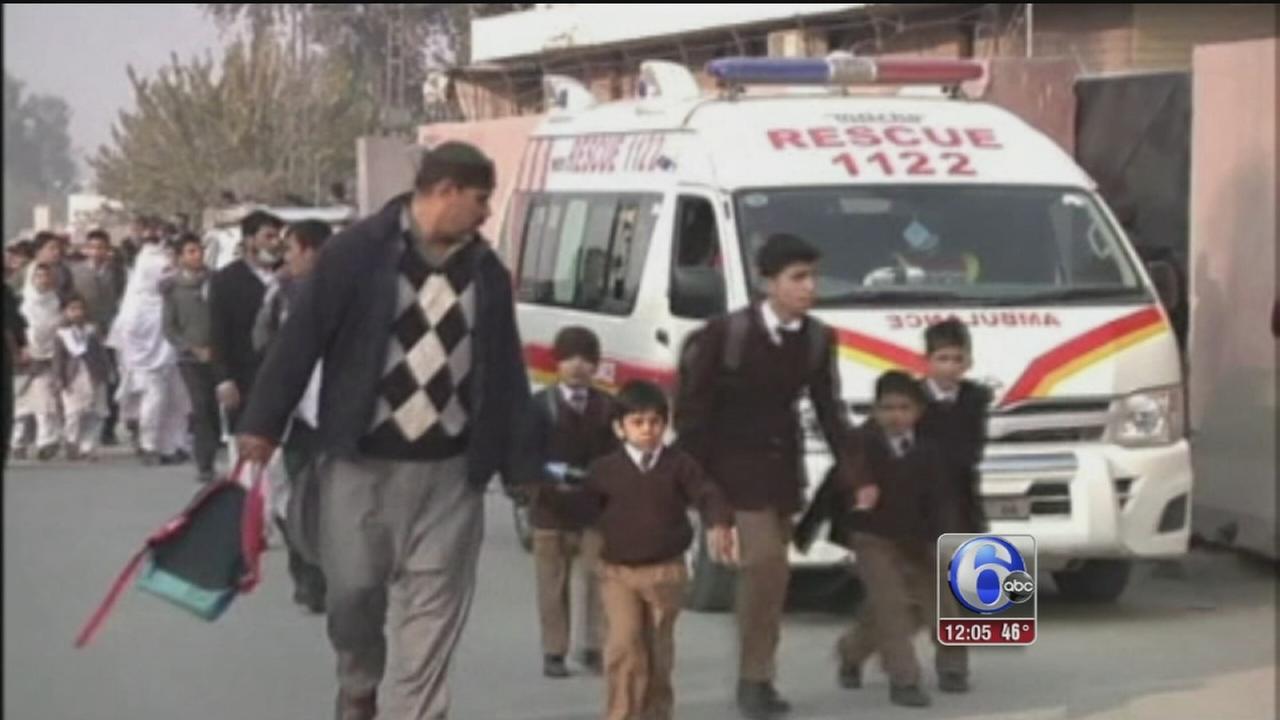 VIDEO: Pakistan school attack