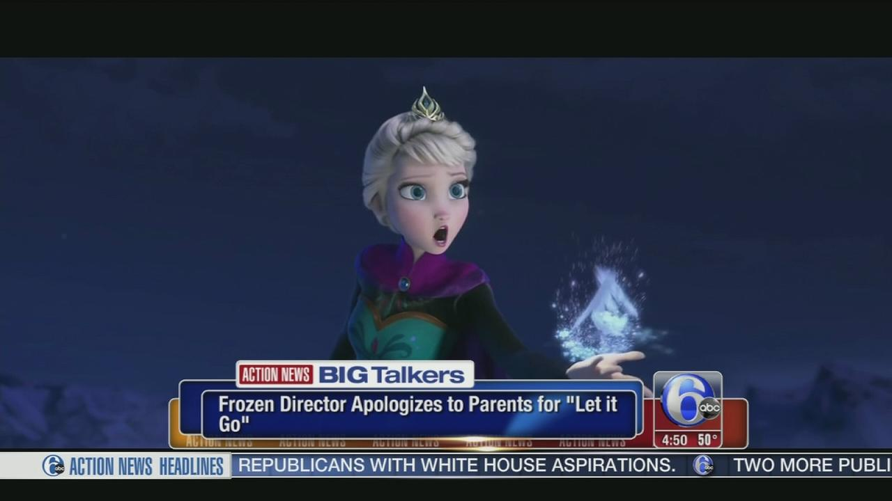 VIDEO: Frozen director apologizes to parents