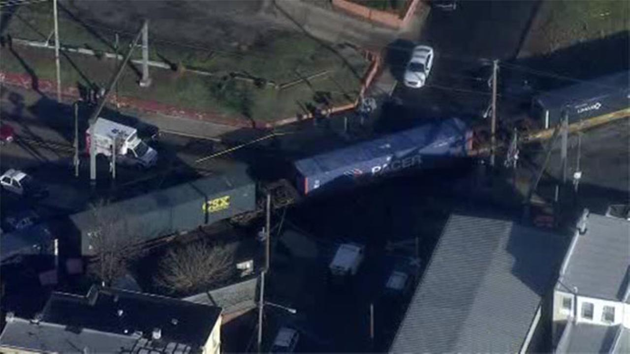 Person struck, killed by train in Darby, Pa.