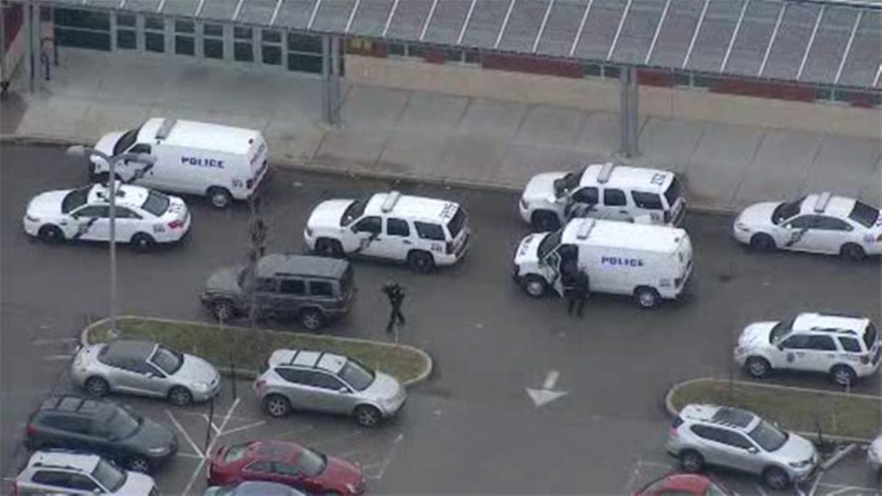 1 in custody after report of gun inside Philly high school
