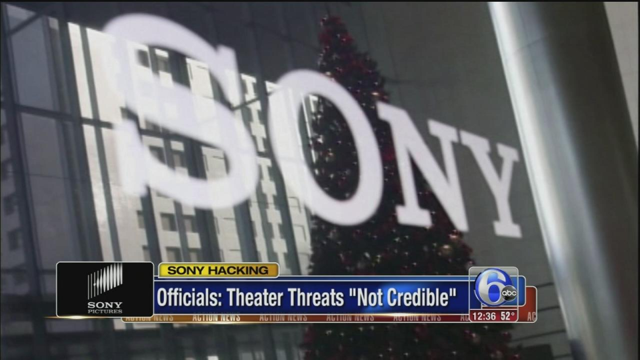 VIDEO: Sony hack theater threats