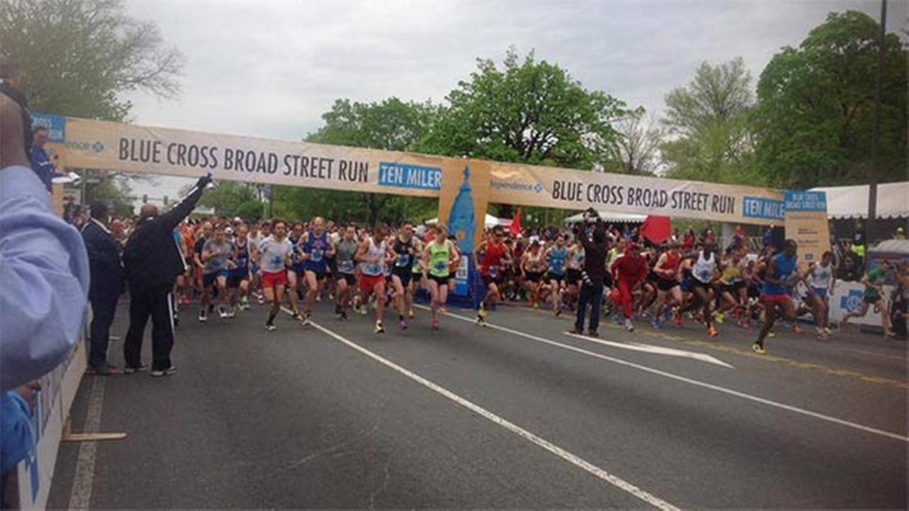 40,000 strong at Blue Cross Broad Street Run