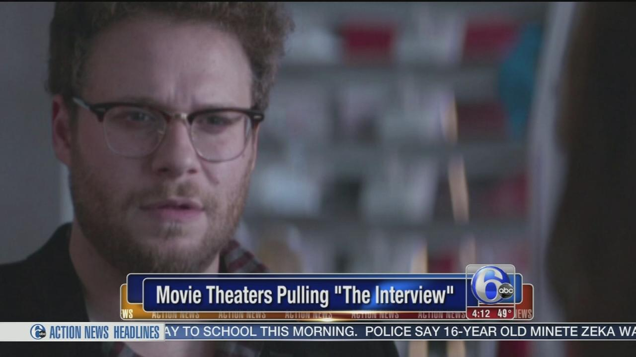 VIDEO: Movie theaters pulling The Interview