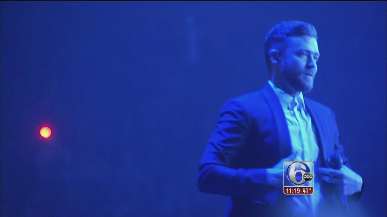 VIDEO: Justin Timberlake in concert