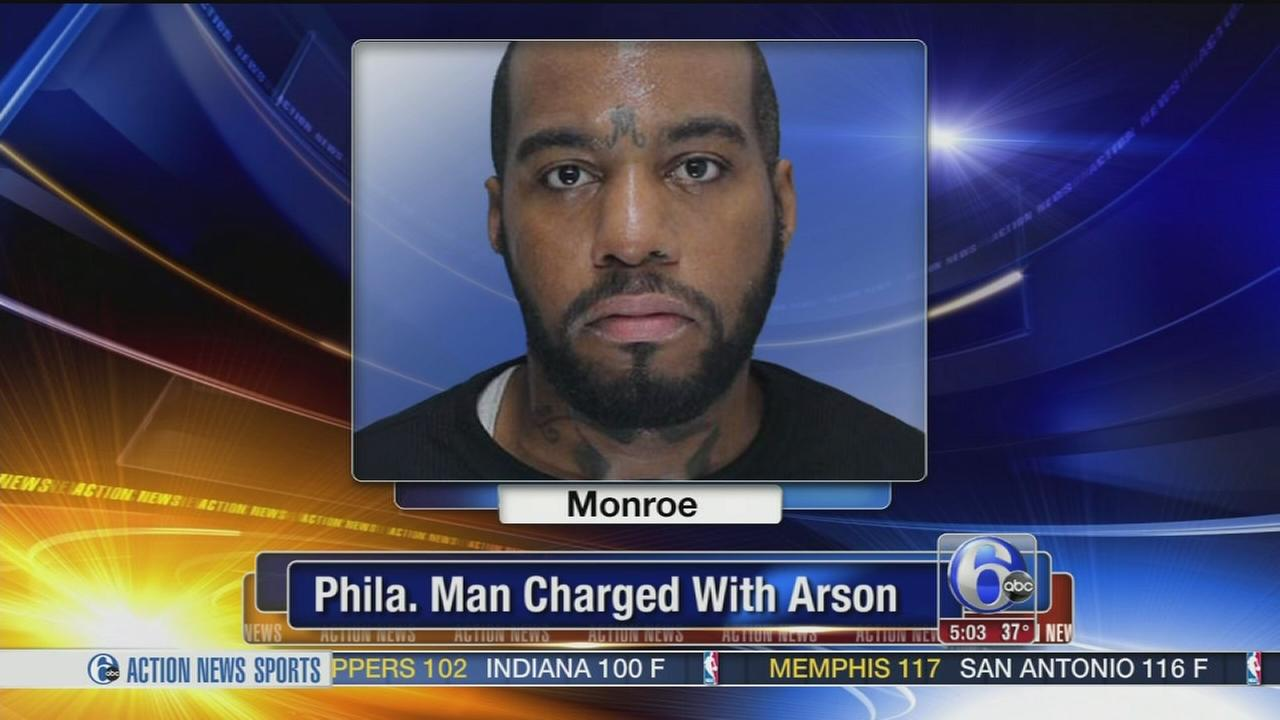 VIDEO: Phila. man charged with 2 arsons