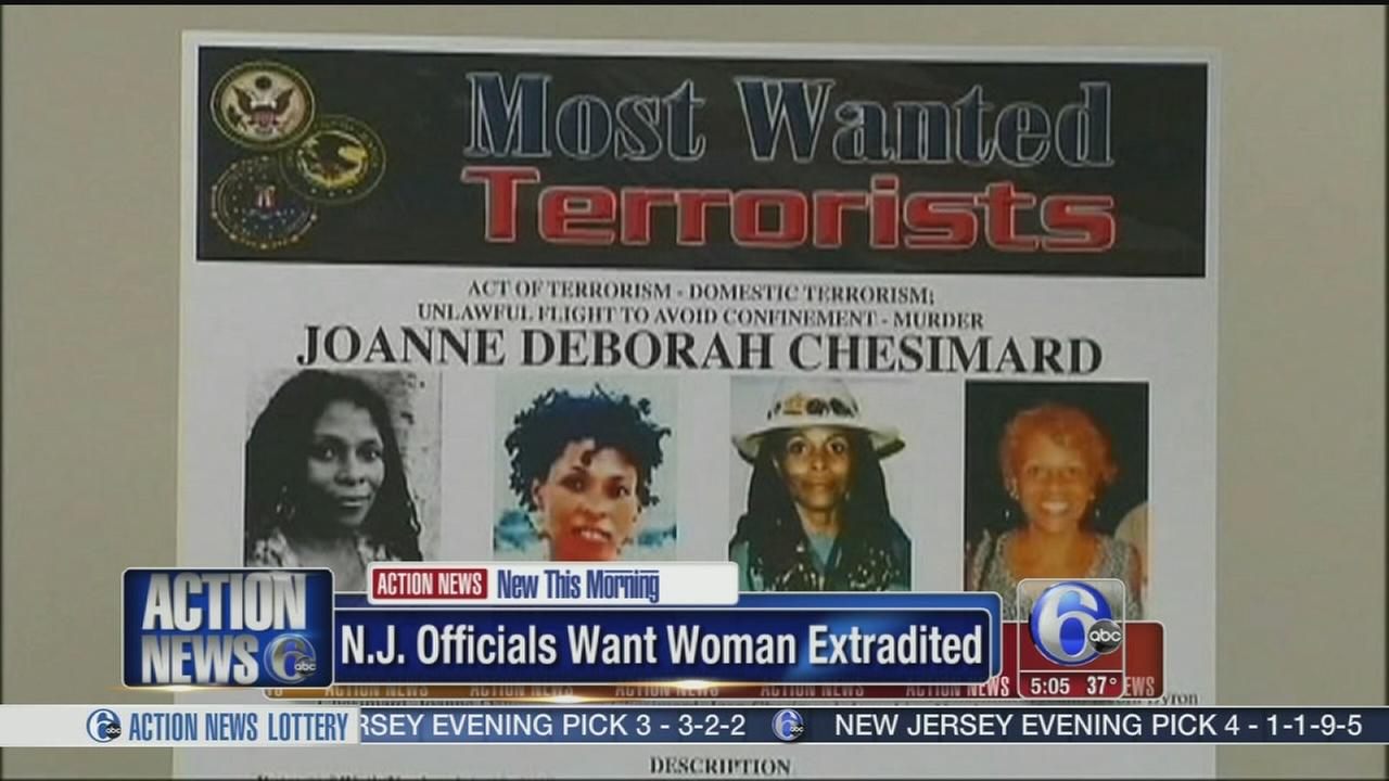 VIDEO: NJ seeks return of cop killer in Cuba