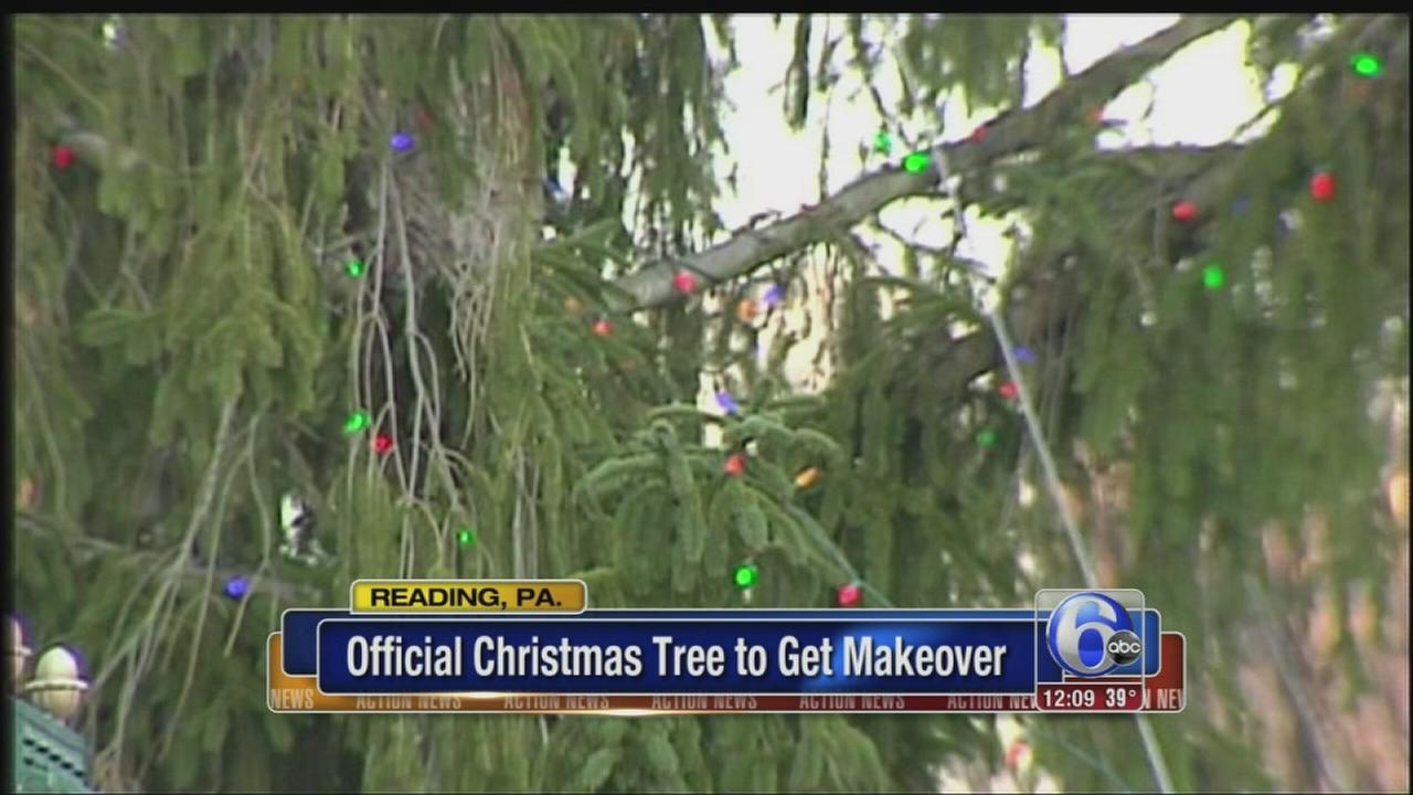 VIDEO: Reading, Pa. embraces xmas tree