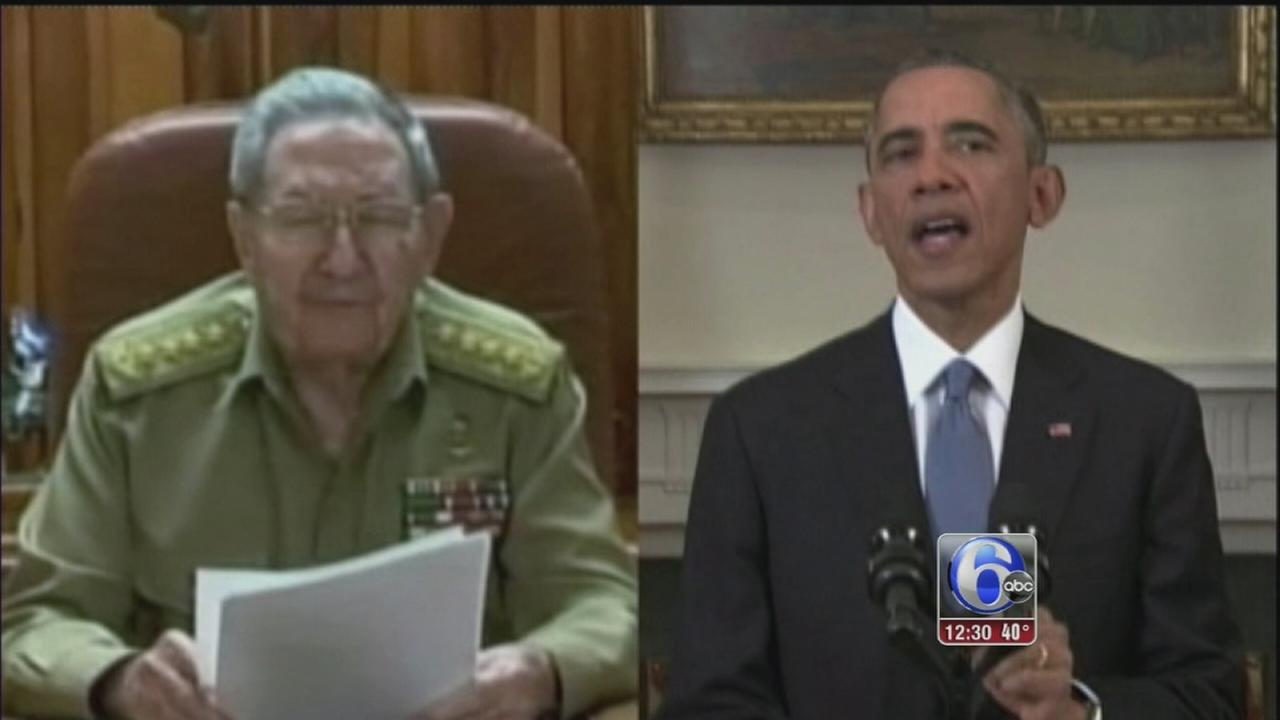 VIDEO: Obama reignites political debate over Cuba