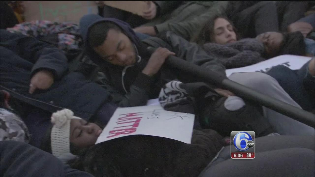 VIDEO: Die-in
