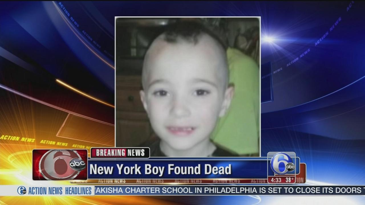 VIDEO: Boy found dead after Amber Alert in NY