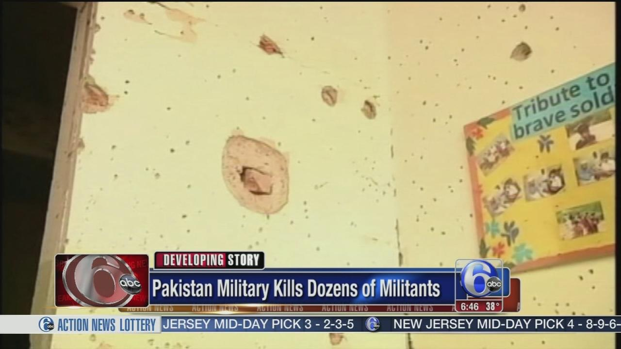 VIDEO: Pakistan military kills dozens of militants