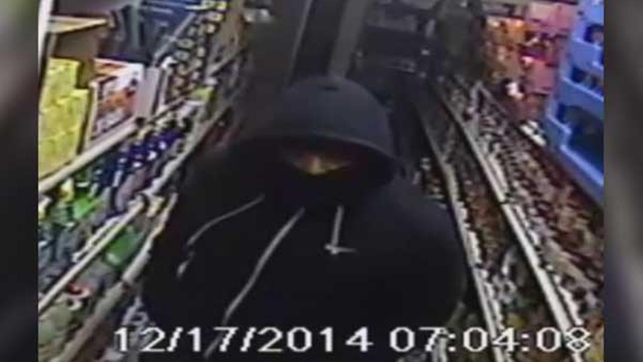 Police are looking for two thieves behind an armed robbery spree in North Philadelphia.