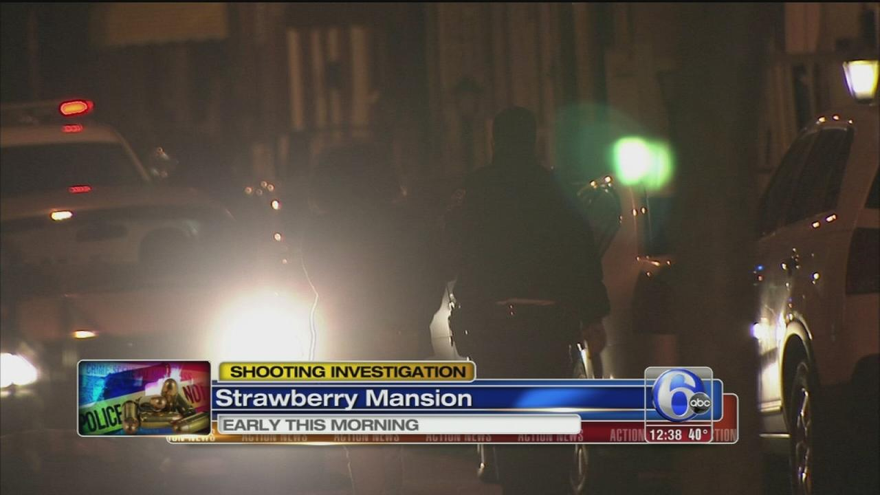 VIDEO: Suspect arrested after Strawberry Mansion shooting