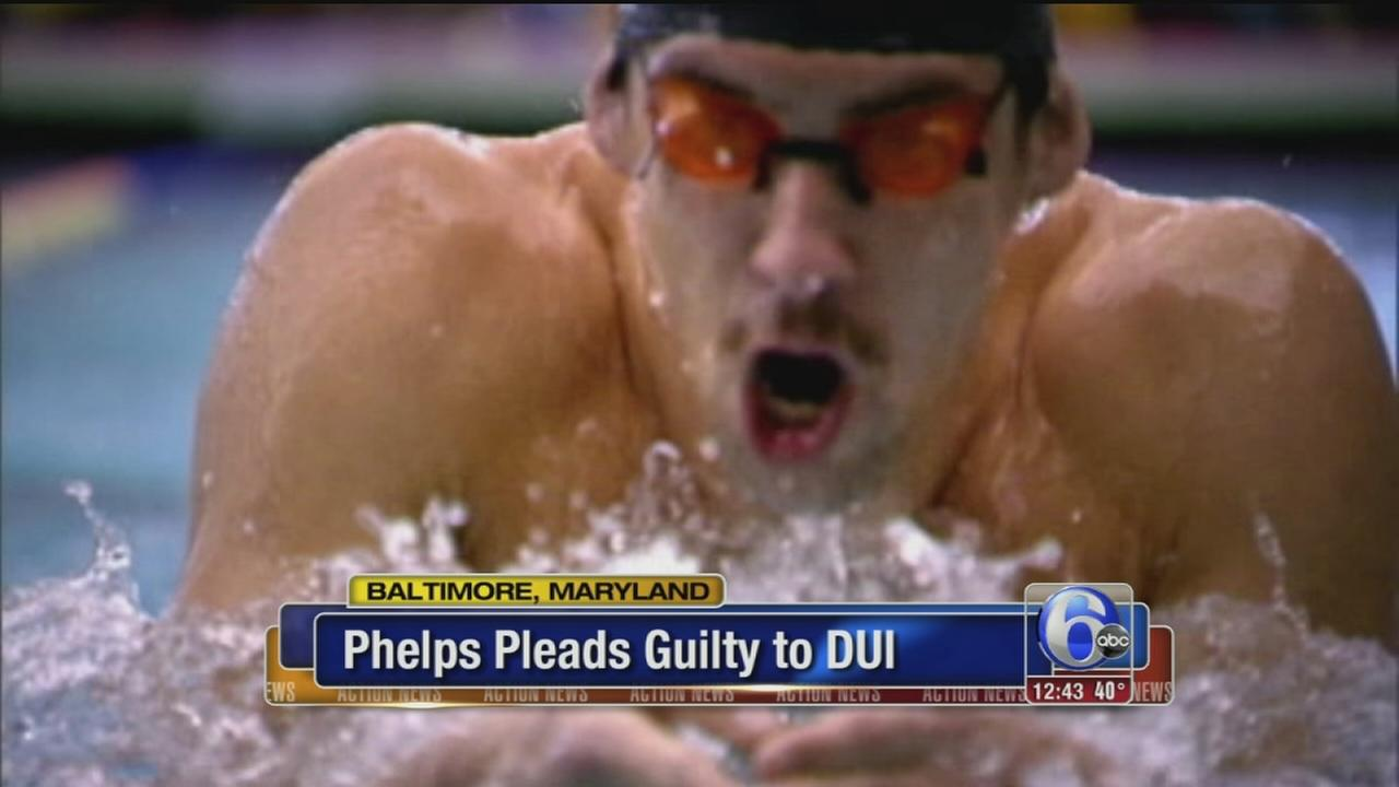 VIDEO: Michael Phelps pleads guilty