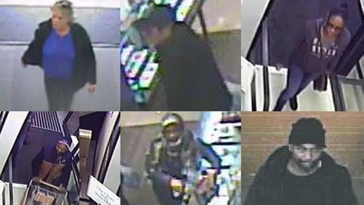 Pickpocket suspects in Cherry Hill