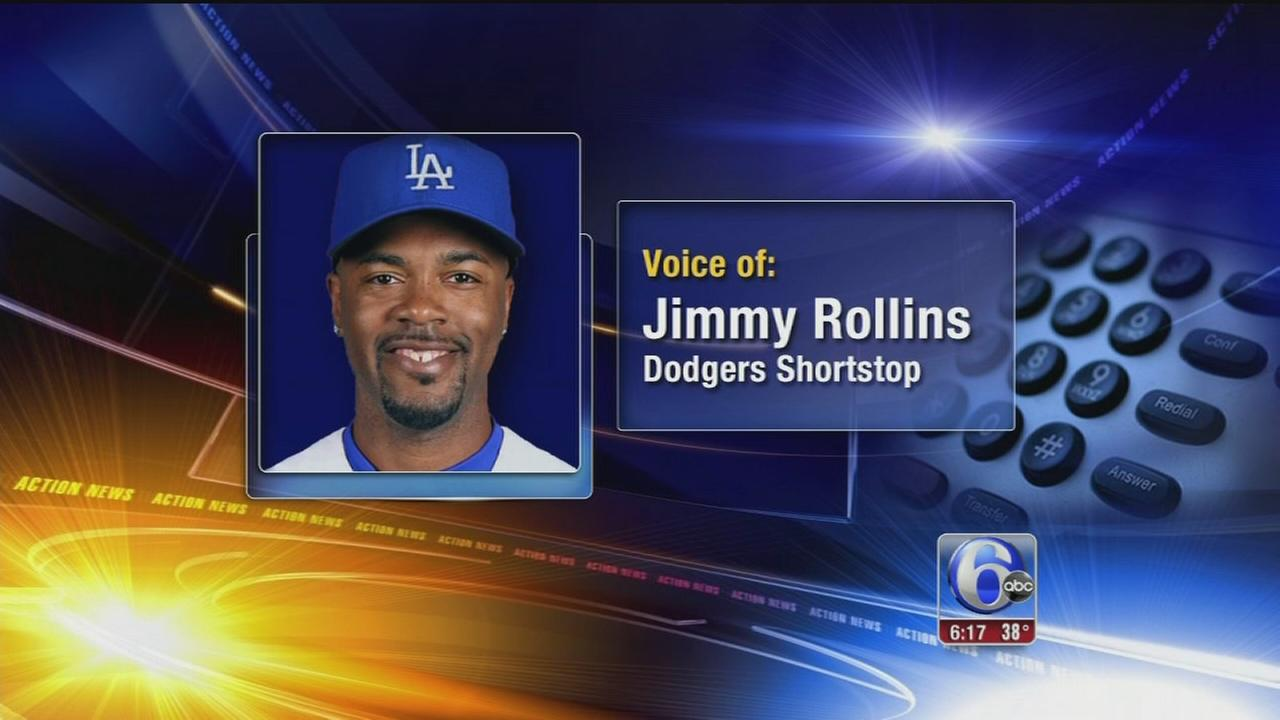 VIDEO: Jimmy Rollins speaks out about trade