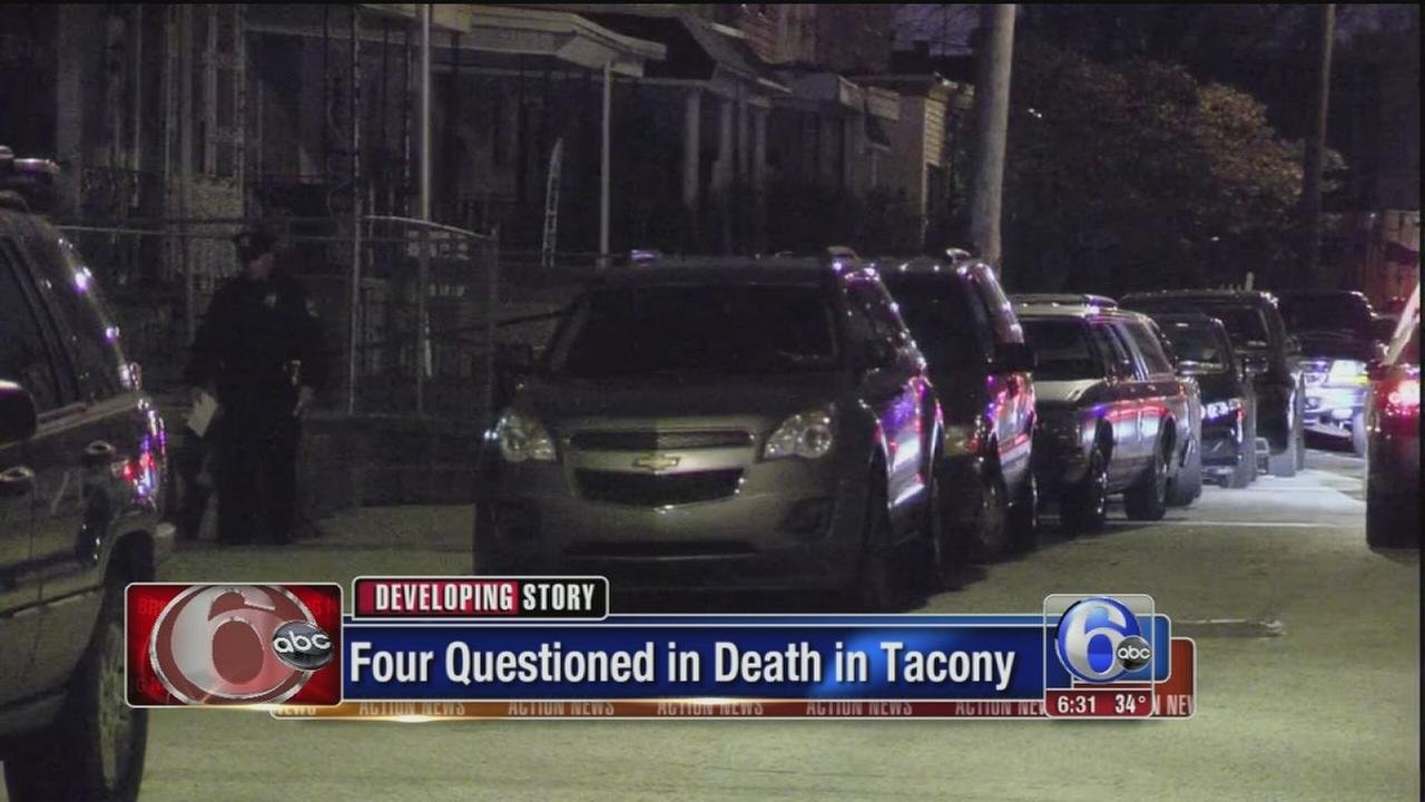 VIDEO: 4 questioned in Tacony death