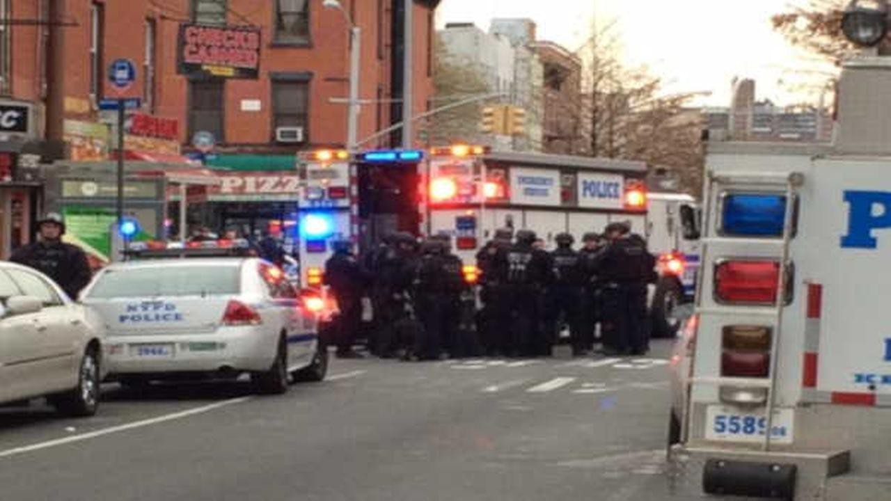 Police: 1 NYC cop dead in shooting, 2nd critical