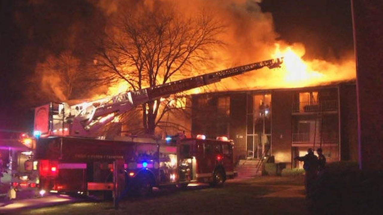 PHOTOS: Apartment inferno