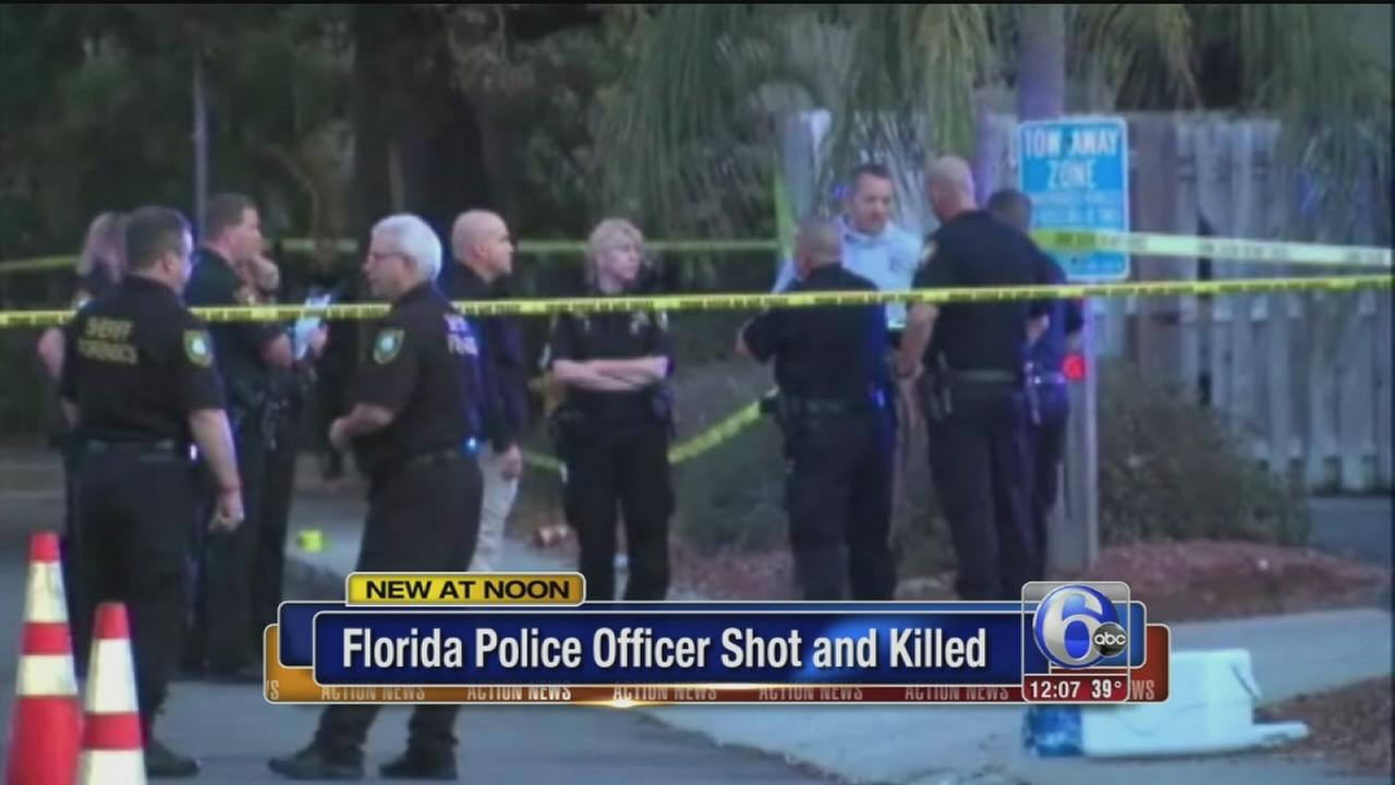 VIDEO: Officer shot