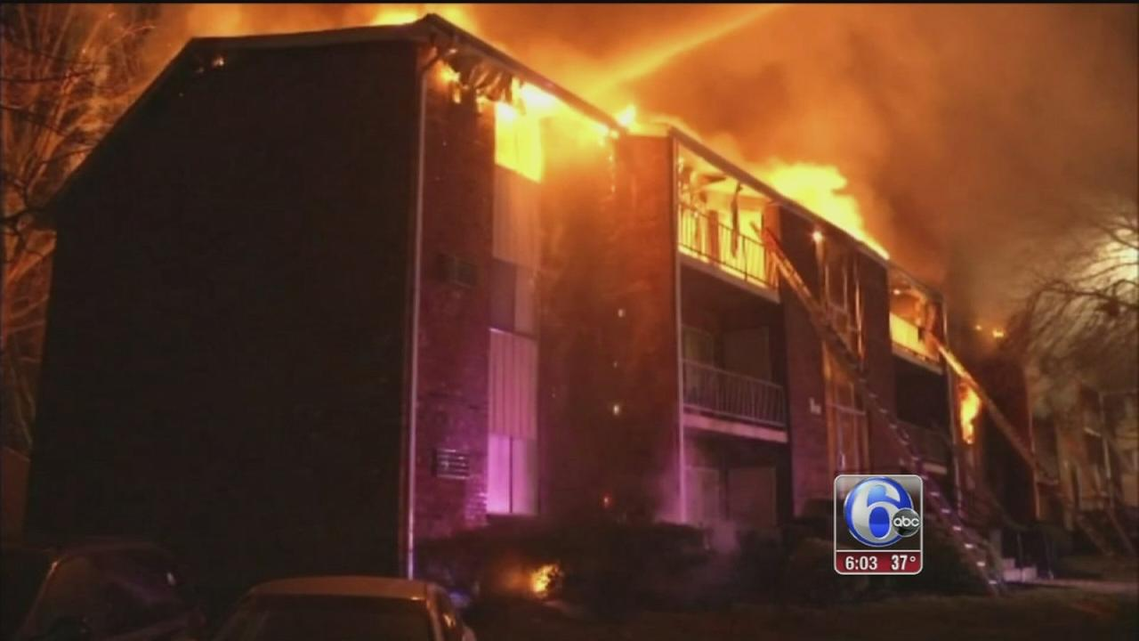 VIDEO: 1 dead in Claymont, Del. apartment fire
