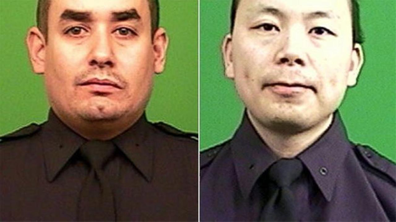 Officers Rafael Ramos and Wenjian Liu