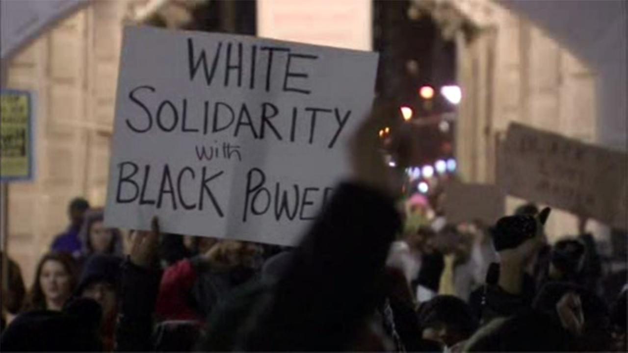 Protesters rally in Center City against police brutality
