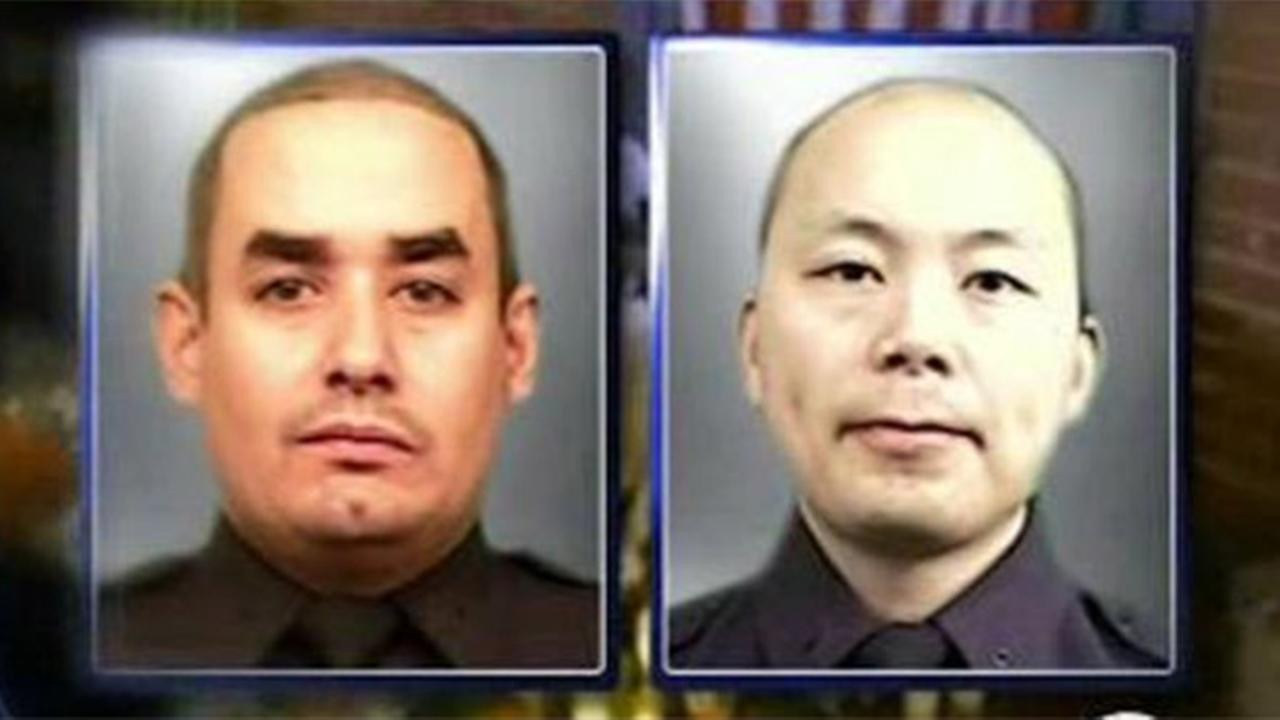 Officers Rafael Ramos and Wenjian Liu