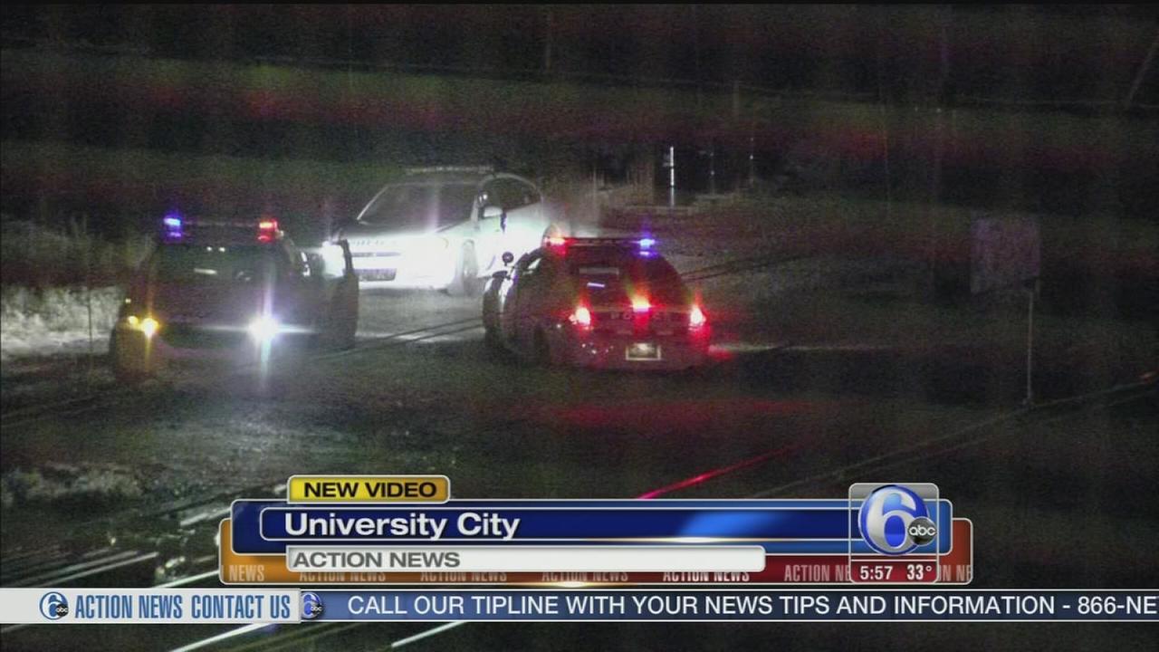 VIDEO: Man struck, killed by train in University City