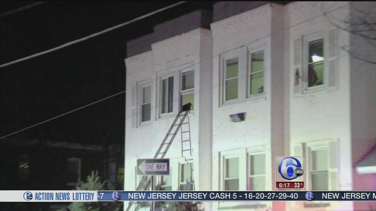 VIDEO: Fire erupts in Camden halfway house