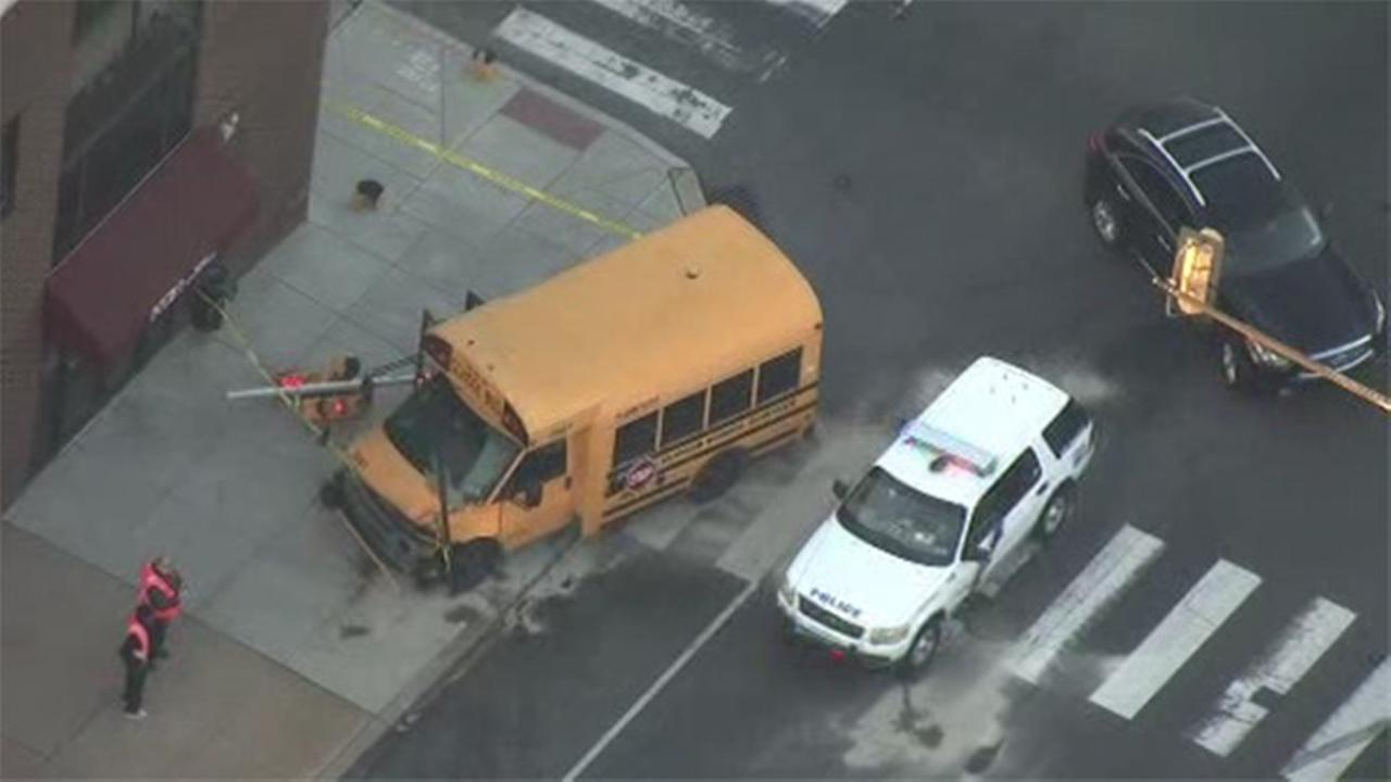 West Philadelphia school bus crash