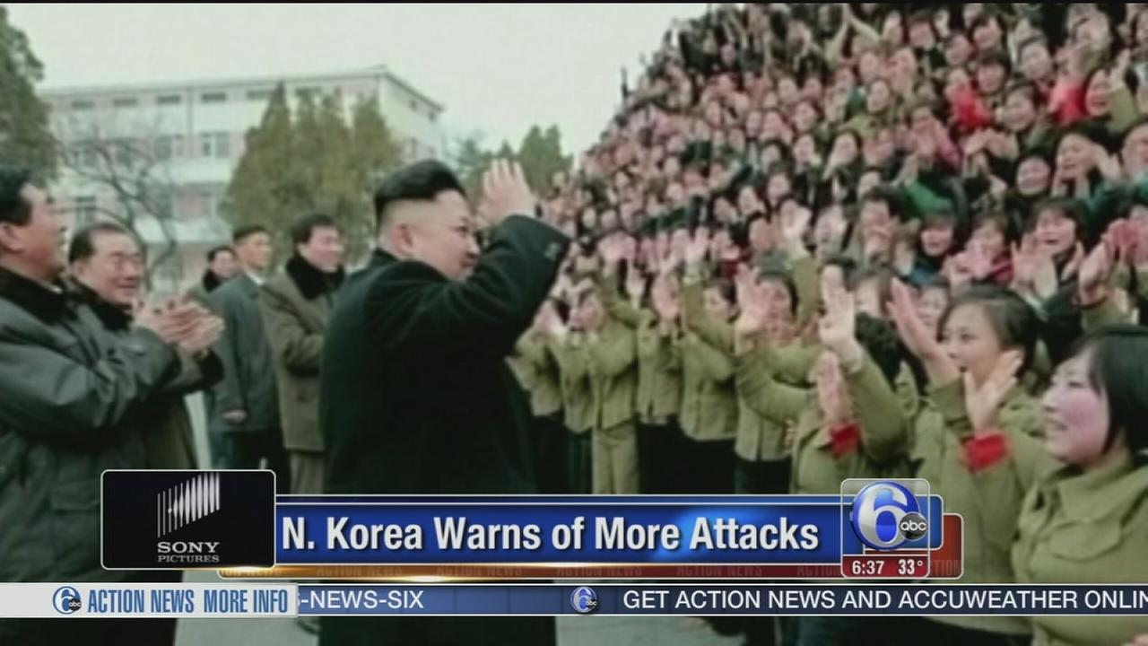 VIDEO: North Korea warns of more attacks