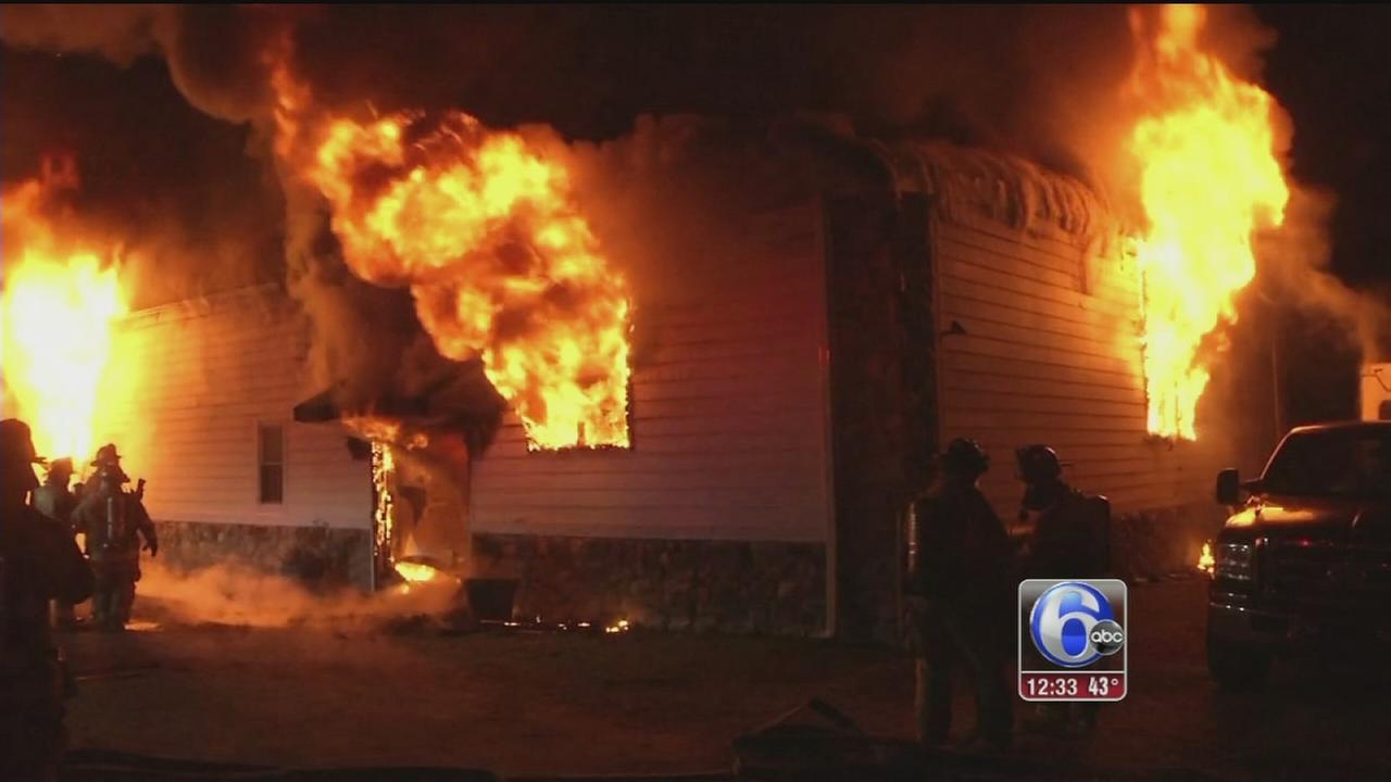 VIDEO: 12 horses killed in Del. barn fire