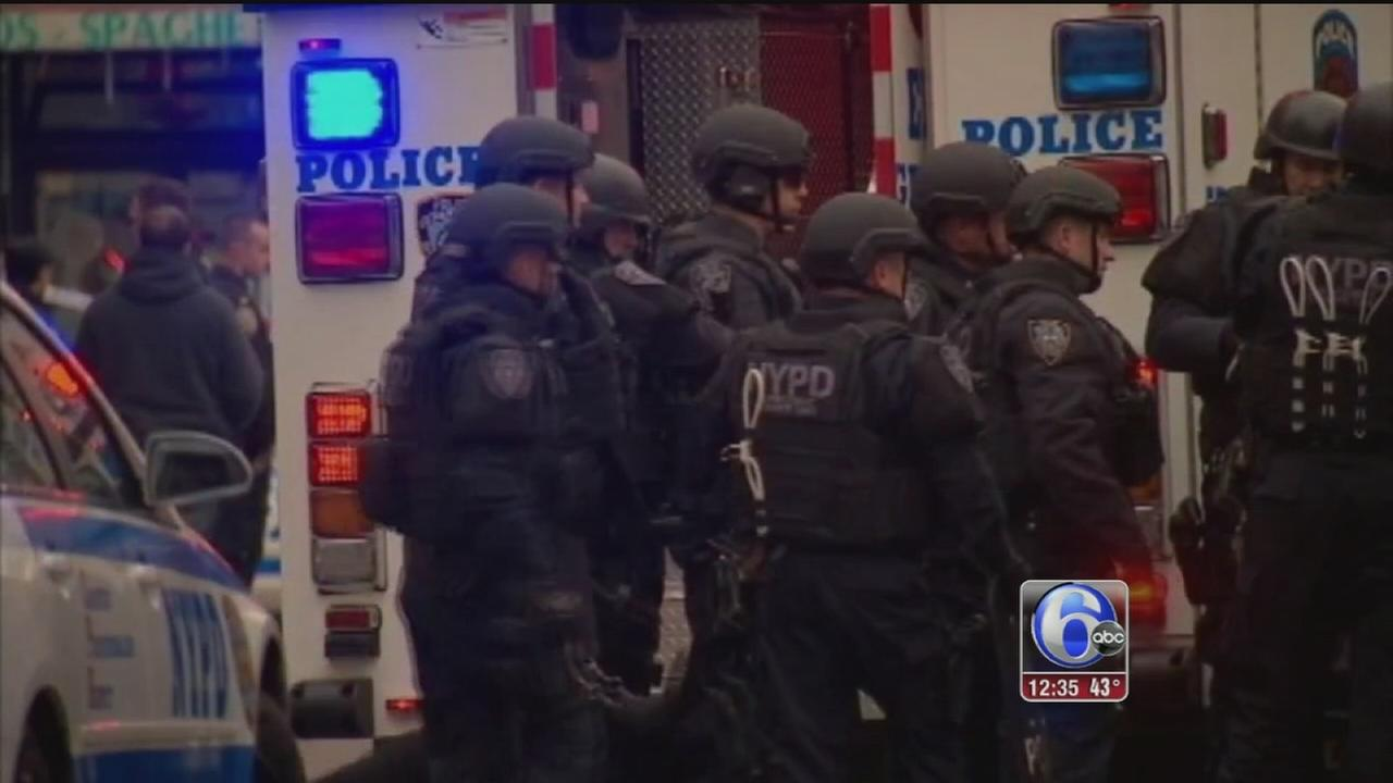 VIDEO: Police nationwide concerned after NYPD shooting