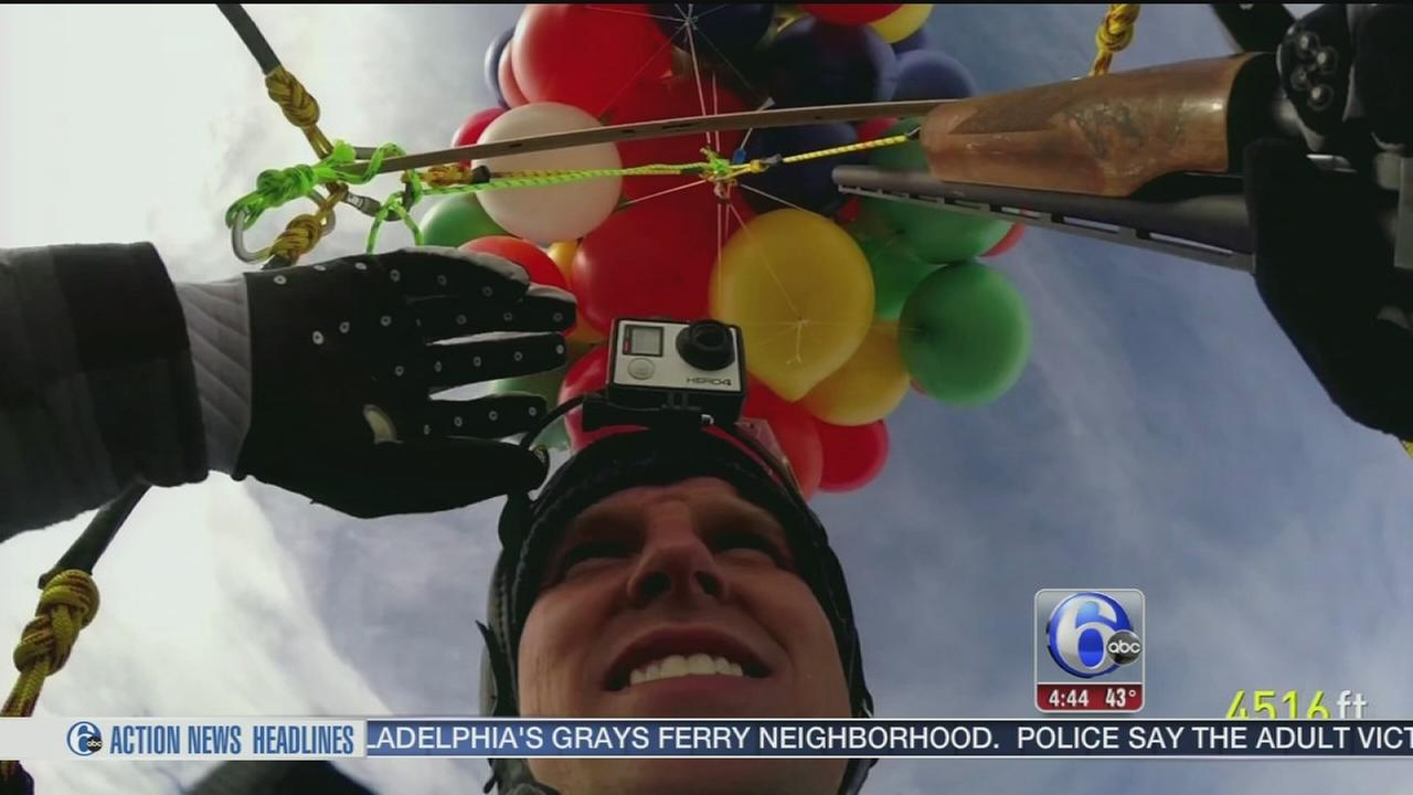 VIDEO: Daredevil creates real-life Up