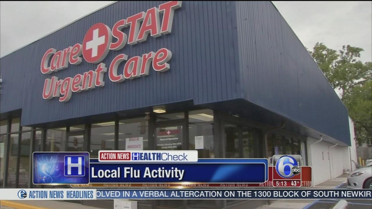 VIDEO: Local flu activity
