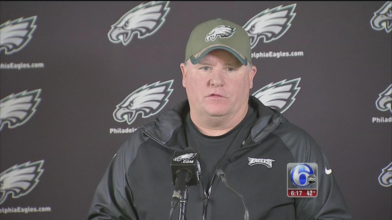 VIDEO: Chip Kelly responds