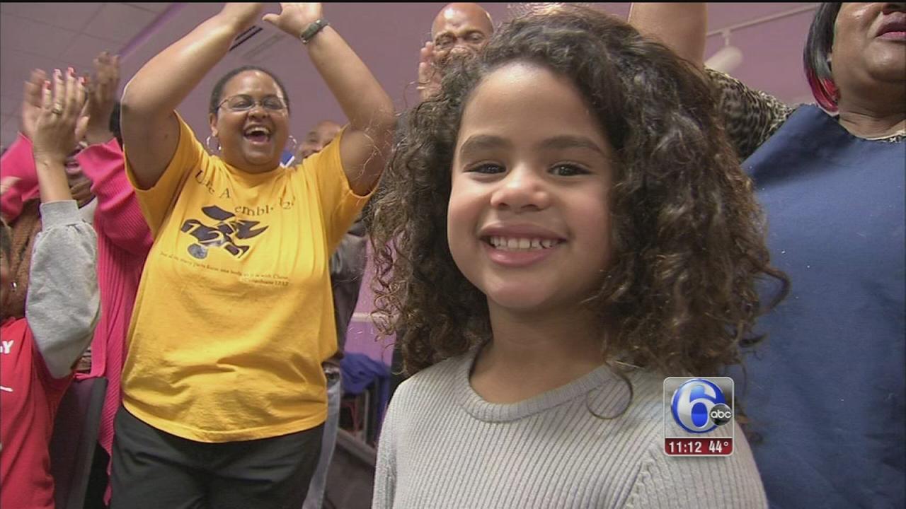 VIDEO: Girl gets birthday wish