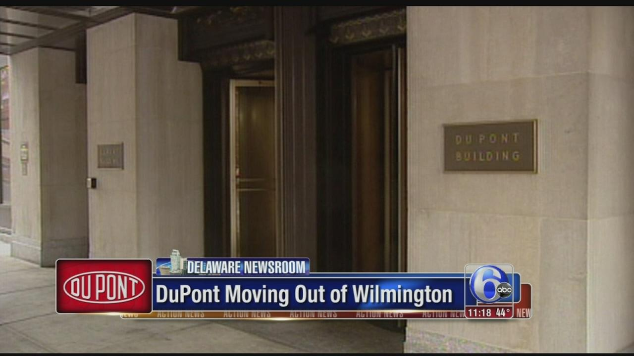 VIDEO: DuPont moving out of Wilmington